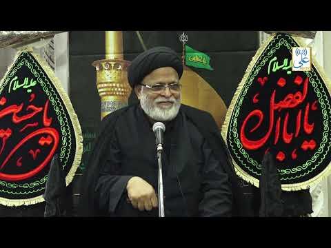 [2nd Majlis]Topic: Azadari aik Azeem Ibadat ha By Maulana Sayed Safi Haider   Khoja Masjid   1441/2019 Urdu