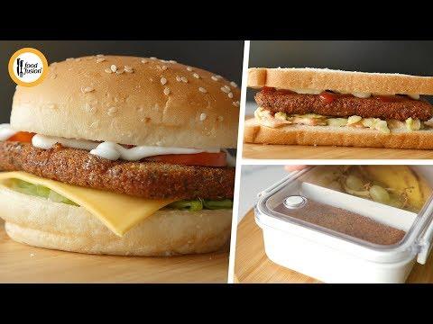 [Quick Recipe] Crispy chicken cutlets with serving ideas - English Urdu