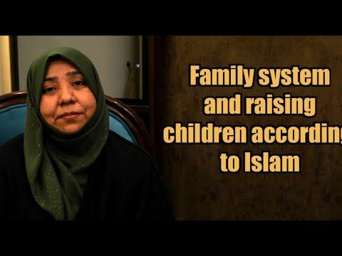 Family system and raising children in Islam   Class 9   Khanam Sakina Mahdvi   Urdu