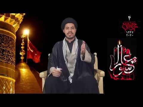 [Majlis 04] Ashorai Khudsazi - Qurbani | Moulana Haider Ali Jaffri | 1442-2020 - Qom - Urdu