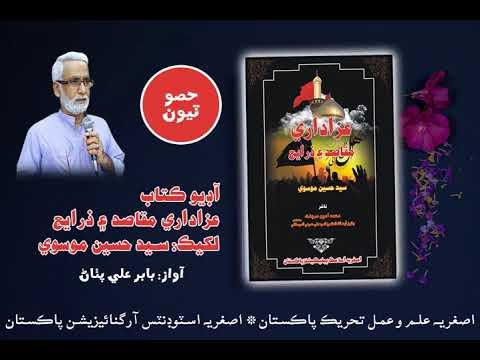 [Audio Book] Azadari Maqasid aen Zarae by Syed Hussain Moosavi    Part3   Tableegh lae afaton  - Sindhi