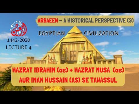 [4] Arbaeen Se Zuhoor Tak   Hazrat Ibrahim (as) Aur Imam Hussain (as) Se Tawassul   Arbaeen 1442-2020 -