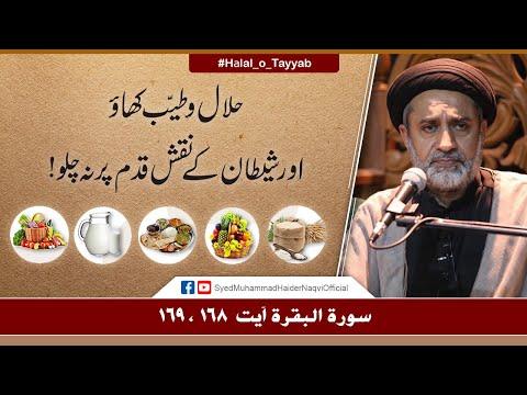 Halal o Tayyab Khao!   Ayaat-un-Bayyinaat   Hafiz Syed Muhammad Haider Naqvi   Urdu
