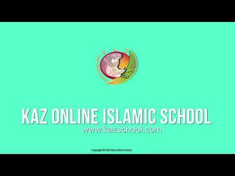 Kids Islamic Stories   Asool e Deen   Muslim   Kaz School   English