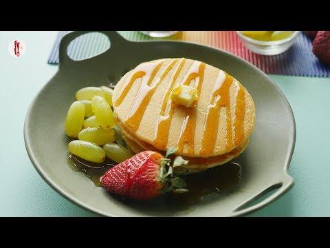 [Quick Recipe] Plain and chocolate Pancake - English Urdu