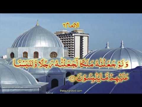 Chapter Chapter 6 Al Anam   HD Quran Recitation By Qari Syed Sadaqat Ali - Arabic