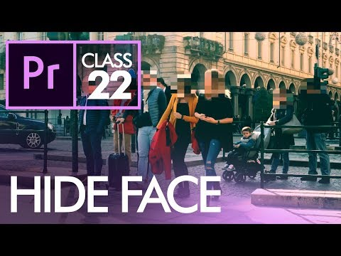 Hide Face in Video - Adobe Premiere Pro CC Class 22 - Urdu / Hindi