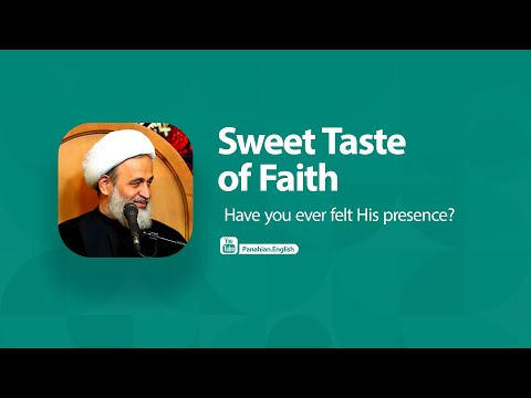 [Clip] Sweet Taste of Faith   Ali Reza Panahian   Farsi Sub English