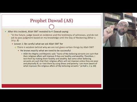 [Ramdhan Lecture V ] Stories From Quran | Sheikh Jaffer H Jaffer | English