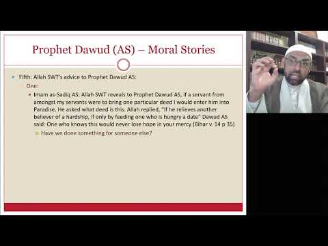 [Ramdhan Lecture VI ] Stories From Quran Hazrat Daud AS | Sheikh Jaffer H Jaffer | English
