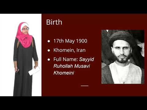 Know Your Ulema Project   Ayatullah Khomeini   Sakinah Yusufali   English