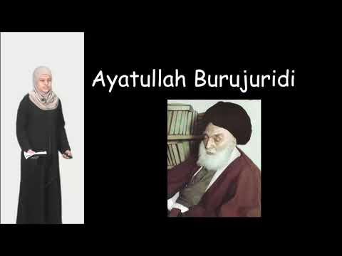 Know Your Ulema Project   Ayatullah Burujuridi   Sakina Daudaly   English