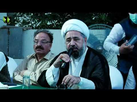 [Speech] Azadi Al-Quds Conference | H.I Muhammad Amin Shaheedi | Mah-e-Ramzaan 1442 | Urdu