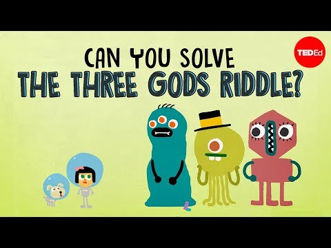 Can you solve the three gods riddle? - Alex Gendler - English