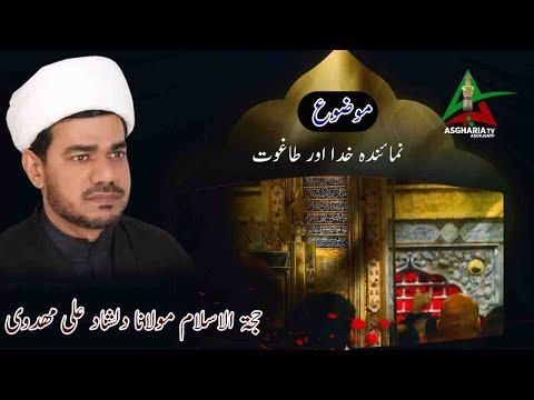 [Asgharia TV] Numainda e Khuda aur Taghoot نمائندہ خدا اور طاغوت I Molana Dilshad mehdivi | Urdu
