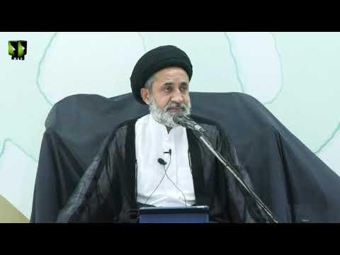[9 Audio] Tafsir Surah -e- Baqrah Ke Muntakhib Aayat   H.I Muhammad Haider Naqvi   Mah-e-Ramzaan   Urdu