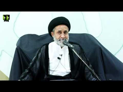 [7] Tafsir Surah -e- Baqrah Ke Muntakhib Aayat   H.I Muhammad Haider Naqvi   Mah-e-Ramzaan 1442   Urdu