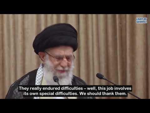Imam Khamenei´s Speech | Night of Destiny | Imam Ali a.s | Teachers and laborers | May 2, 2021 - Farsi sub English