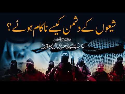شیعوں کے دشمن کیسے ناکام ہوئے ؟    Allama Syed Ahmed Iqbal Rizvi   Urdu