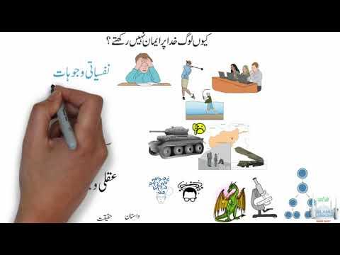 AQAID | TAUHEED | LESSON 12 | KYN LOG KHUDA PER EMAN NAHI RAHTY | کیوں لوگ خدا پر ایمان نہیں رکھتے؟ | Urdu