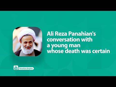 [Clip] Ali Reza Panahian\'s conversation with a young man whose death was certain | Farsi sub English
