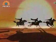 For Kids! Ashooraian - Story of Karbala - Part 1 - Animation-Farsi sub English