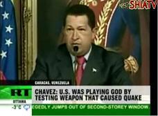 Chavez: US weapon test caused Haiti earthquake - English