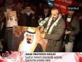 Protest in Turkey for Saudi Involvement in Yemen - All Languages
