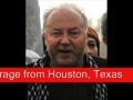 George Galloway speaks out in outrage from Houston - 31May2010 - English