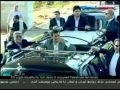 Tens of thousands of people welcome Iranian President in Beirut - 13Oct2010 - English