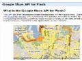 Google map api for Flash integration - [English]