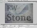 Fireworks Inlay and Emboss Textured Text Logo Effects Tutorial CS3 CS4 CS5 - English