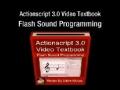 1 Actionscript 3.0 Sound Programming Video Textbook Flash CS4 CS5 MP3 Tutorials - English