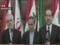 Iranian vice president  & Iraqi Prime minister Press Conference (Baghdad) 6 July 2011- Press TV - English