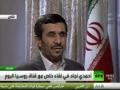 Dr, Ahmadinejad Interview with RT - Arabic