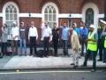 مقابل سفارت میانمار در لندن London Protest against Muslims Massacre in Myanmar -English sub Farsi