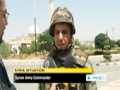 [03 Aug 2012] Syrian army trying to restore calm in Aleppo - English