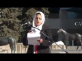 [Calgary – Protest Shia Genocide] An Emotional Speech By Siter Sabeen Wasti - English