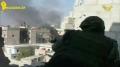 Syrian army grip on shrine Hz. Sakina الجيش السوري يحكم قبضته على مقام السيدة س Arabic