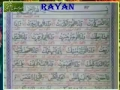Quran Recitation - Surah Shams - child - Arabic