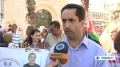 [29 Sept 2013] Ramallah protest calls for release of sick Palestinian prisoners - English