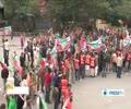 [07 Apr 2014] Lahore protest slams govt. for receiving Saudi aid - English