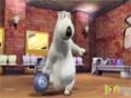 [05] Animated Cartoon Bernard Bear - Bowling - All Languages
