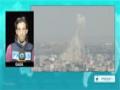 [25 Auig 2014] Dozens injured as Israeli jets hit Italian tower, UN-run school in Gaza - English
