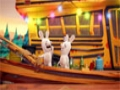 Animated Cartoon - Rabbids - The mystery of the missing morons - All Languages