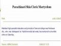 News - Parachinari Shia Cleric Martyrdom-English