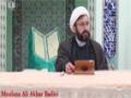 [02] Tafsir Surah Al-Noor - Moulana Ali Akbar Badiei - 17 Ramadan 1436 - English