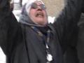 Calgary Protest Against Israel Dec 28 2008-Women Crying-English