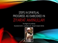 [12 Majlis] Steps in Spiritual Progress in the Light of Ziyarat Aminullah - Sh Saleem Bhimji - 12 Muharram1437 - English