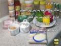 آموزش آشپزی - پاستا با سس سیر - Pasta - Farsi